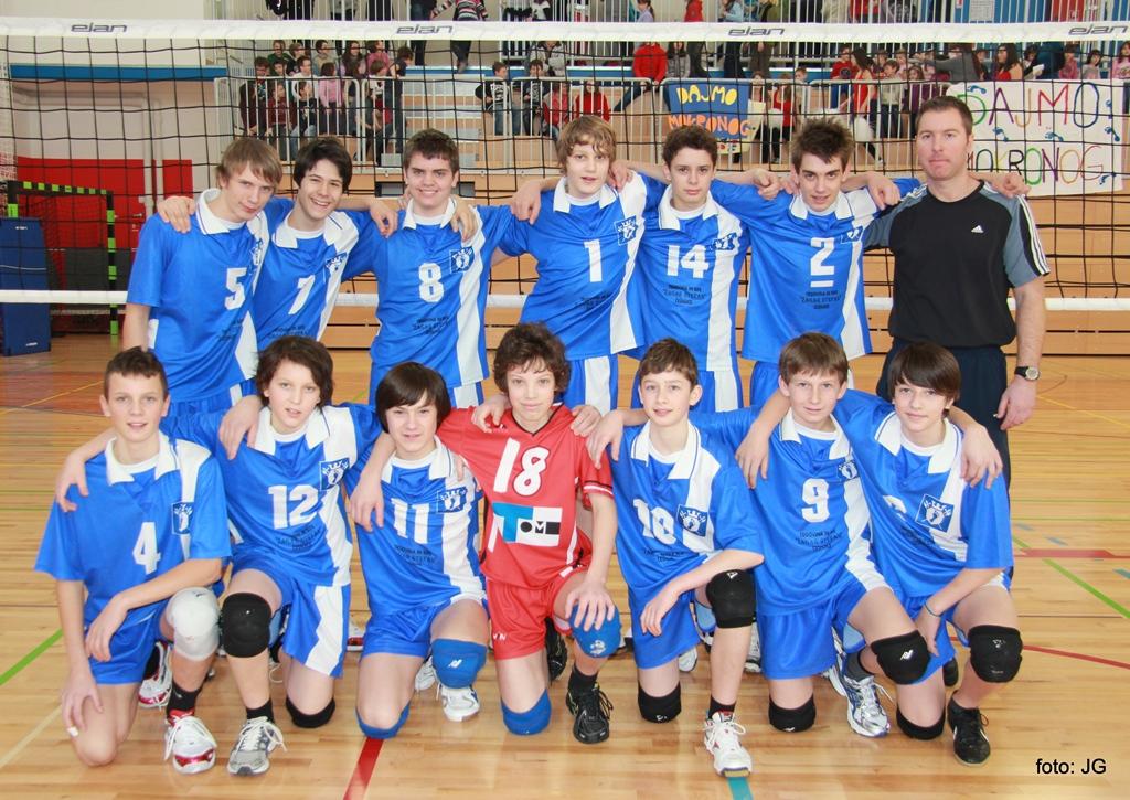 Četrtfinale državnega prvenstva v odbojki